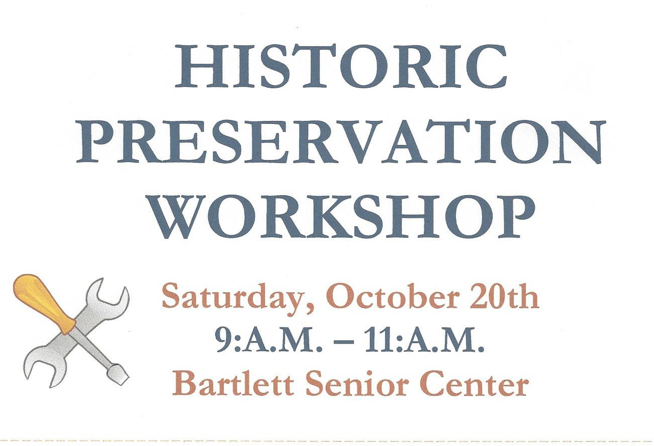 Historic Preservation Workshop