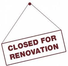 renovation sign