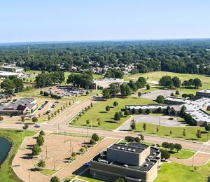 Aerial view of Bartlett