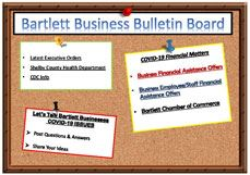 Bartlett Business Bulletin Board