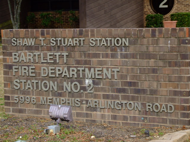 Station 2 building sign