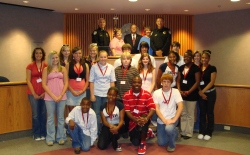 Youth Citizens Police Academy Team