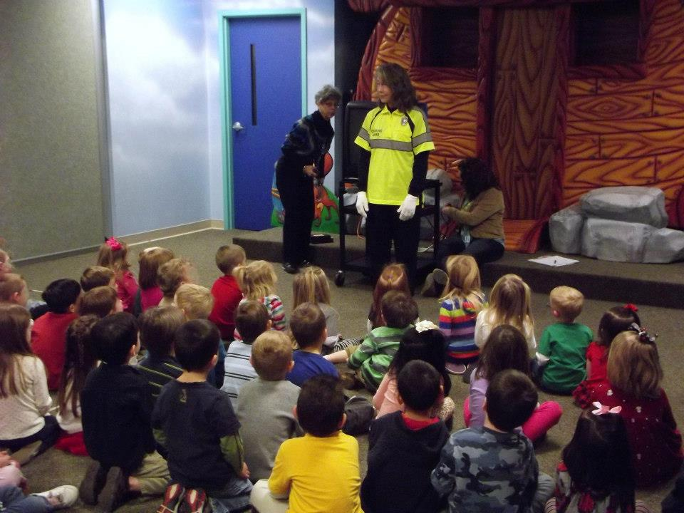Safety class for small children