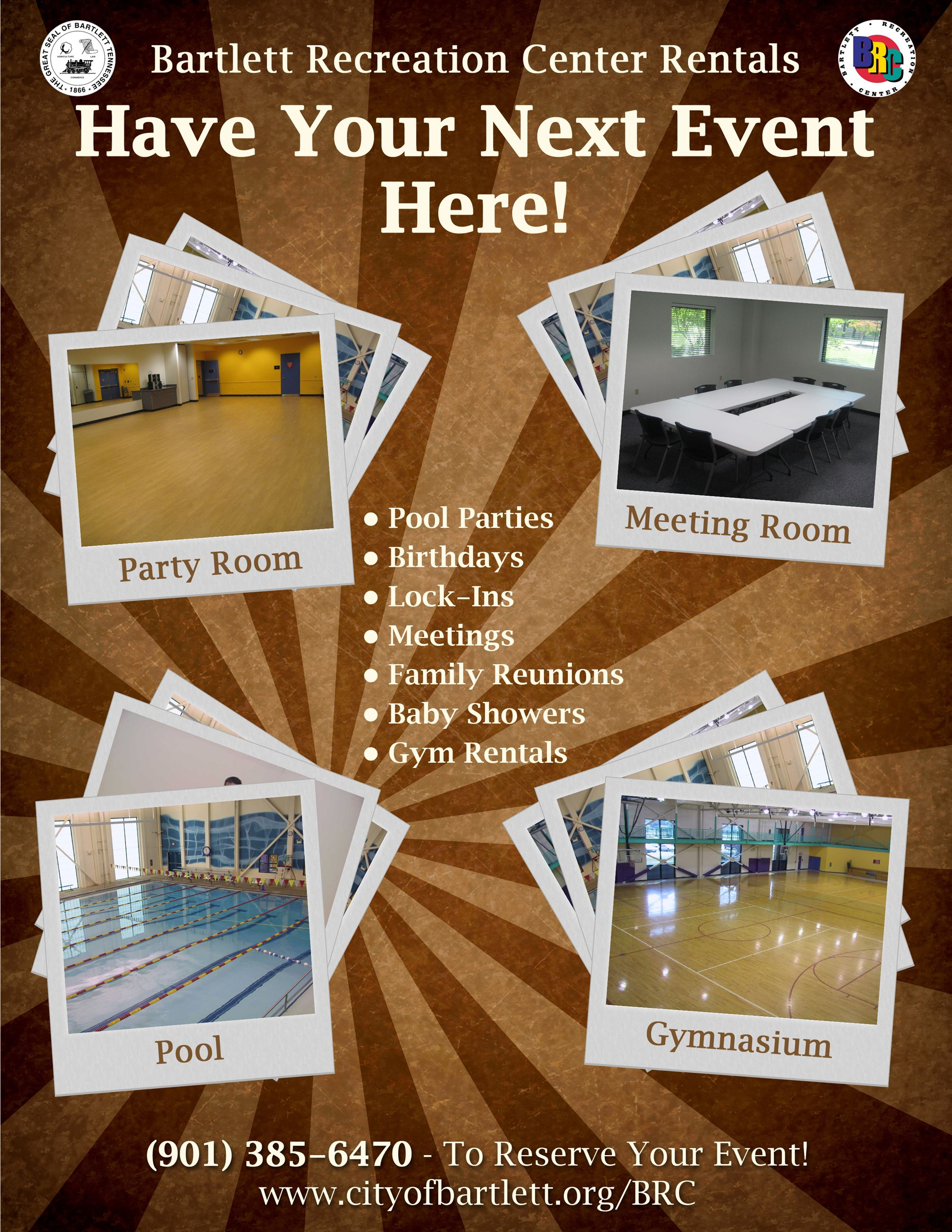 Event Rental Flyer