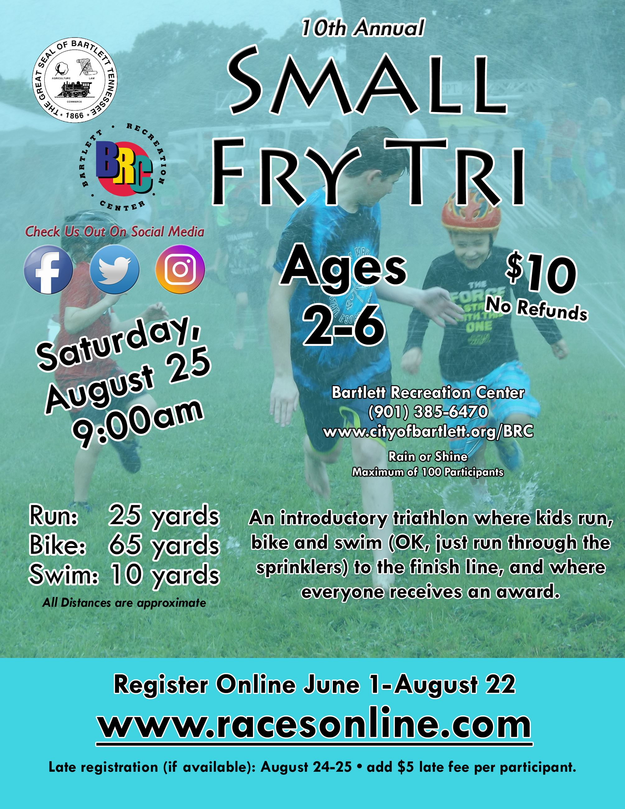 Small Fry Tri - 2016