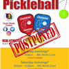 Pickleball - Open Play - CXL 4-22-17
