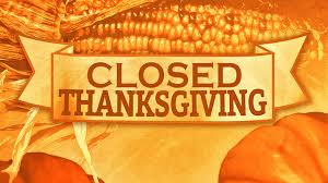 Thanksgivingclosed