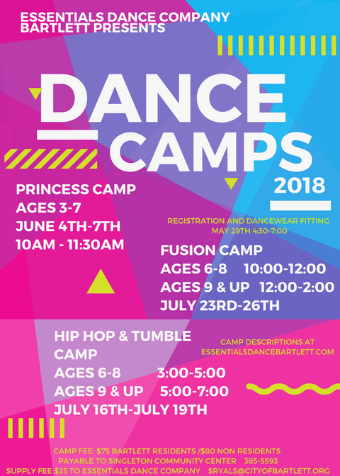 2018 dance camps pic