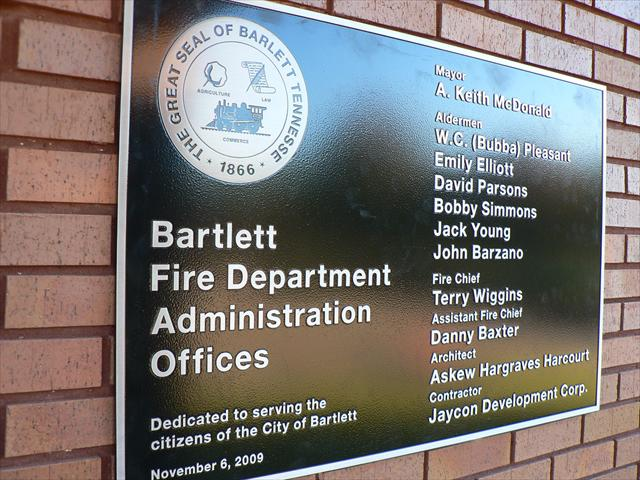 Administration Building Plaque